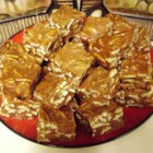 Aunt Bill's Brown Candy - A rich, old-fashioned, creamy, pecan candy made with sugar, cream, butter and pecans that can be a family candy-making event.