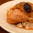 Greek Chicken Kozani - This is a delectable chicken dish from Kozani, a city and region in northern Greece. The prunes and onion lend sweetness, while the paprika offers a smoky flavor. Serve with steamed rice.