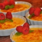 White Chocolate Macadamia Creme Brulee - White chocolate and vanilla accent this creamy indulgence while toasted macadamia nuts bring a welcome crunch.  The simple preparation will forever remove the mystery behind one of the culinary world's favorite desserts.