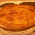 Salmon and Potato Pie - A favorite with our family, this French-Canadian dish has been passed down from many generations. It's a simple dish that can be served with a bechamel sauce. If you like salmon you will enjoy this pie.
