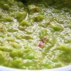 Gourmet Guacamole - This is a delicious and easy guacamole dip with salsa, mayonnaise and spices!