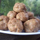 Tantalizing Turkey and Blue Cheese Meatballs - These blue cheese and turkey meatballs are my own recipe.