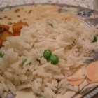 Basmati Rice - Basmati rice with peas and cumin.  A simple way to liven up plain rice.