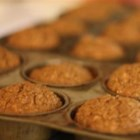Roxie's Bran Muffins - Bran muffins are made with bran cereal, apple, banana, honey, and plump raisins.