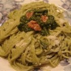 15-Year-Old Pesto Sauce - Try this simple and quick pesto on your next batch of pasta.