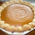 Pumpkin Pie IV - Lots of spices and brown sugar gives this pumpkin pie a rich, deep flavor. This recipe is generous enough to make two pies.