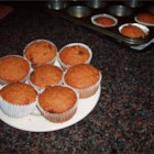 Carrot Muffins - There are lots and lots of good things in these pretty muffins. Besides carrots, there 's molasses and eggs and allspice. As well as brown sugar, cinnamon and whole wheat flour. No wonder they are soooooooo tasty. Makes 24 muffins.