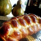 Challah I - This is a Jewish egg bread, often braided for a beautiful presentation.  Top it with sesame or poppy seeds or try adding raisins to the batter for a special touch.