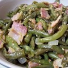 Creole Green Beans - Bacon, cayenne pepper, and Creole seasoning really spice up these grown-up green beans. This is good, but not for the kids!