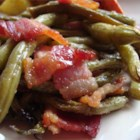 Arkansas Green Beans - Green beans and bacon are baked in a sweet and savory sauce.