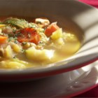 Chicken Soup - With this quick mix of chicken, a few vegetables and garlic, there is no need to resort to canned soup anymore.