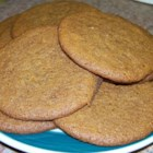 Ginger Snaps I - Molasses and ginger are a classic combination as seen in these traditional ginger snaps.