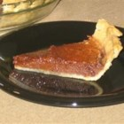 Chocolate Chess Pie I - This is a very easy pie to make, and it tastes wonderful!