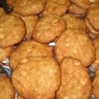 Oatmeal Cookies Light - Easy oatmeal cookies made with reduced fat substitutions.
