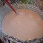 Knifton Christmas Eggnog - Eggnog and ice cream punch come together in this deliciously creamy dessert drink!
