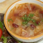 Healing Cabbage Soup - Comfort food on a cold winter's night, cabbage simmered in chicken broth is also an age-old folk remedy for curing the common cold.