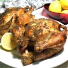Roasted Lemon Herb Chicken - A whole chicken is rubbed inside and out with herbs, then baked with a drizzle of lemon and olive oil for a light Italian dish.