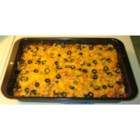 Southwestern Bake - This southwestern dish is great for parties or if you have a large family. Ground beef, black beans and corn are layered with tortilla chips and Cheddar cheese, then baked.