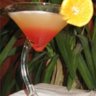Bikini Martini - Take one swimming pool, add coconut rum, vodka, pineapple juice and grenadine.