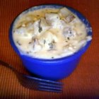 Cottage Cheese Potatoes - This is a easy quick recipe. It is a favorite in my family. The blend of cottage and cheddar cheeses is spectacular.