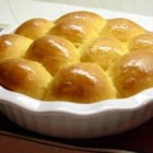 Sweet Potato Rolls - These golden orange rolls deliver a subtle earthy taste that goes well with almost any entree.