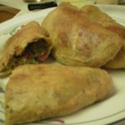 Photo of: Broccoli, Pepperoni and Three Cheese Calzones - Recipe of the Day