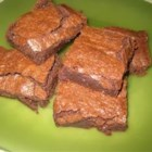 One Bowl Brownies - Moist, chocolate brownies made in one bowl. This is simply the best and easiest recipe out there.