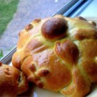 Pan de Muertos (Mexican Bread of the Dead) - This is a version of the bread that is made for the November 2 celebration known as the Dia de los Muertos (Day of the Dead) in Mexico.