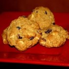 Chocolate-Cran-Oat Cookies - A chewy chocolate mix with dried cranberries - a holiday treat! I prefer to use white whole wheat flour because it's not as heavy as regular whole wheat flour.