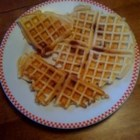 Corned Beef Waffles - Here is a family favorite recipe that while it sounds strange is very tasty and has won over everyone who has tried it. It was born out of wartime in the Philippines we believe.  Typically served for breakfast with butter or margarine.  Not a sweet waffle.  Best in a standard waffle iron (not Belgian).