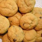 Chocolate Chip Cinnamon Cookies - Cinnamon and vanilla add a spicy nip to these delicious chocolate chip drop cookies.