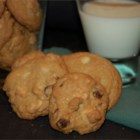 Double Chocolate Chip Macadamia Cookies - We love chocolate chip cookies at our house, and these are especially good!! I use a 1 inch scoop to form the cookies.