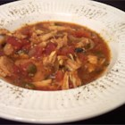 Slow Cooker Chicken Creole - The stewed tomatoes and jalapeno pepper give this slow cooker recipe its Creole zing, along with seasoning and other veggies. This is an easy and tasty Creole chicken recipe. Just put all ingredients into the slow cooker and let it simmer all day. It's perfect over egg noodles. Add extra water and veggies to the leftovers to make a tasty afternoon soup.