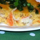 Cajun Crabmeat Au Gratin - This rich, cheesy crab dish is packed with flavor!