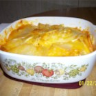 Cheesy Potatoes - Cheesy potatoes make an easy side dish when you use the microwave. All you need are potatoes, onion, and Cheddar cheese.