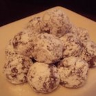 Cherry Bourbon Balls - This recipe can also use rum  instead of bourbon and also you can use chocolate wafers instead of vanilla wafers. Be sure to age these for at least a few days in a tin before serving.