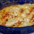 Yummy Artichoke Dip - This Parmesan cheese dip is a flavorful favorite. Green chile peppers add a spicy thrill!