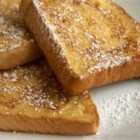 Reduced Fat French Toast - This is an easy variation on the basic French toast recipe, except it uses reduced fat substitutes! Serve with fruit or sugar-free maple syrup.