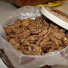 Sweet Coated Pecans - Sweet flavored pecans with a cinnamon twist.