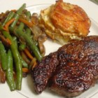 BBQ NY Strip - A quick and easy way to make a tasty, tender steak on the grill! Marinate for a minimum of 2 hours.
