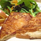 Croque-Monsieur - Easily adaptable into a Monte Cristo by just adding chicken, this wonderful battered then fried sandwich makes a great lunch with a tossed salad.