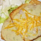 Creamed Tuna On Toast - Creamy tuna is served on toast. It's great! It's easy! And best of all, kids love it.