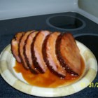 Honeyed Ham Glaze - A very quick and sweet ham glaze that's easy to make.