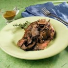 Wild Mushroom Sauce - This sauce, made with chanterelles, morels, or a combination of wild and cultivated mushrooms, is excellent over most grilled meats, including veal or beef medallions.