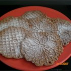 "Chocolate Pizzelles - These are thin waferlike cookies and you must have a pizzelle iron to make them.  The Italians call them ""Pizzelle Alle Nocciole""."