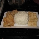 Garlic Cheese Ball - A great cheese ball for garlic lovers.  Spicy enough to give a little zing and creamy enough to satisfy anyone. Serve with all kinds of crackers or bread.