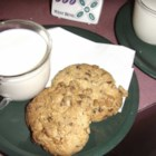 Double Nut Chocolate Chip Cookies - Cookie recipe using cake mix.