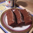 Grandma's Fresh Apple Cake - A wonderful loaf cake that is chock full of apples. It also contains raisins and nuts.