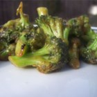 Stir-Fry Broccoli With Orange Sauce - Broccoli is stir-fried with water chestnuts with a fragrant citrus sauce.