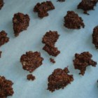 No Bake Chocolate Cookies II - These chocolate macaroons taste a lot like candy.